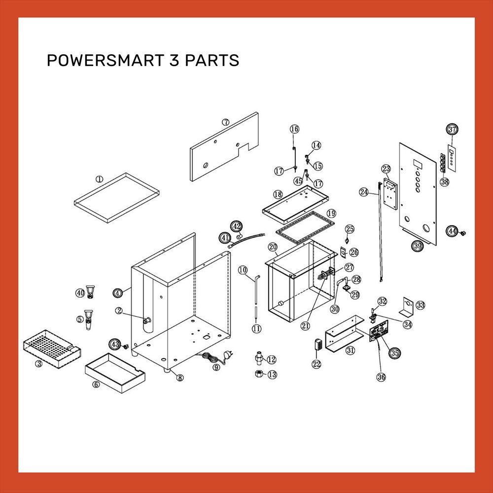 POWERSMART 3 PARTS