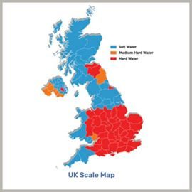 UK Scale Map